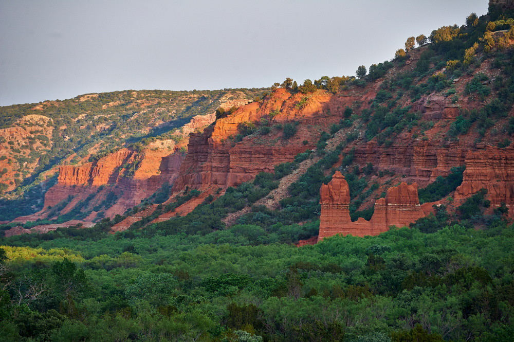 Austin Landscape Andrew Fritz - Caprock Canyon - Thunderstorms - 06