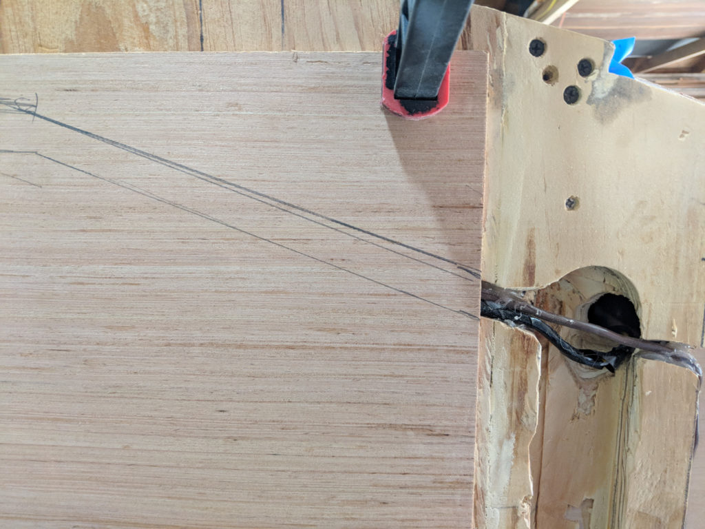 Marking out the Wiring Locations