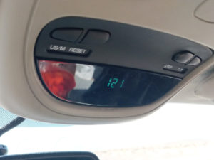 121F Temp in Southern CA