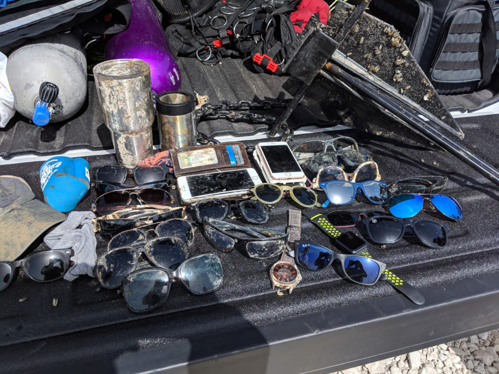 Lake Travis Diving - Junk from the Depths