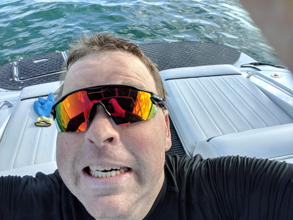 Lake Travis Diving - Junk from the Depths - My New Oakley Glasses