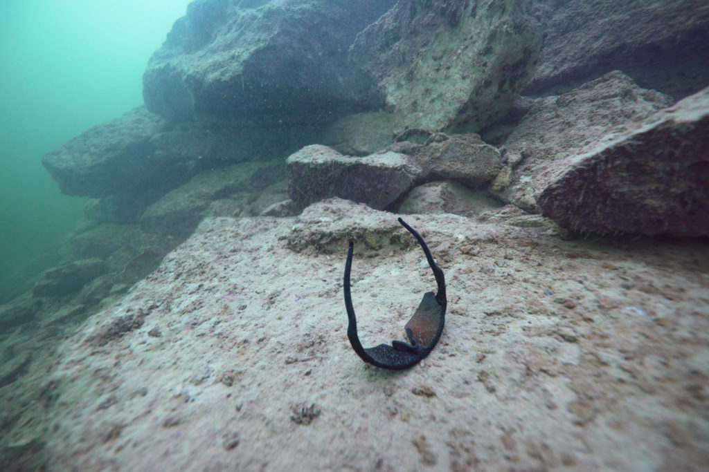 Lake Travis Scuba - Lost Sunglasses on the Bottom of Lake Travis