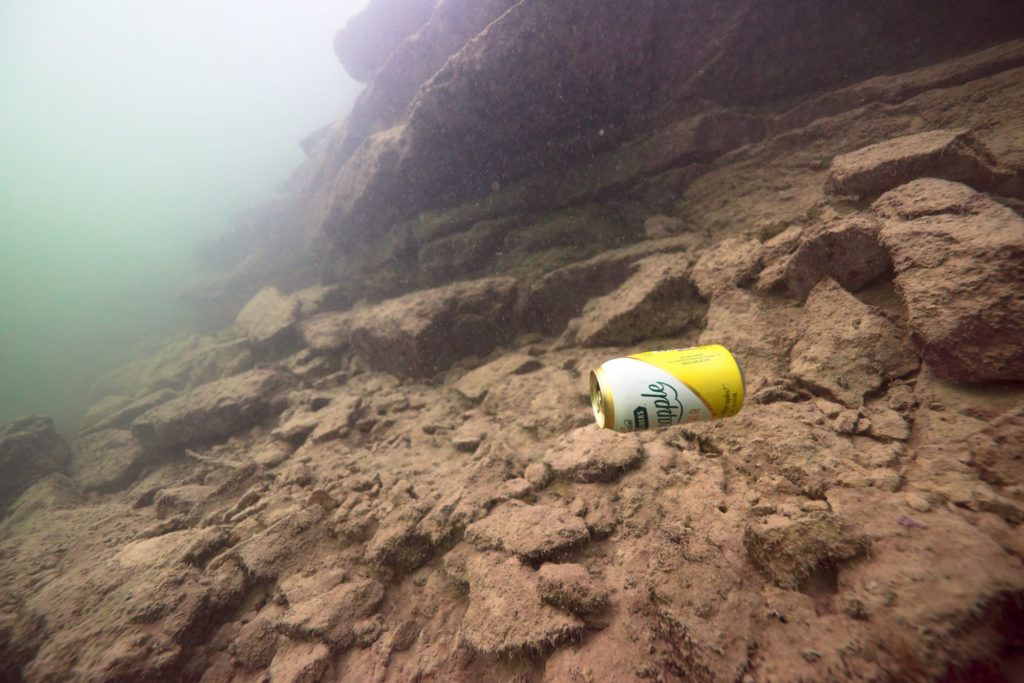 Lake Travis Scuba - More disposable 1-time use cans...