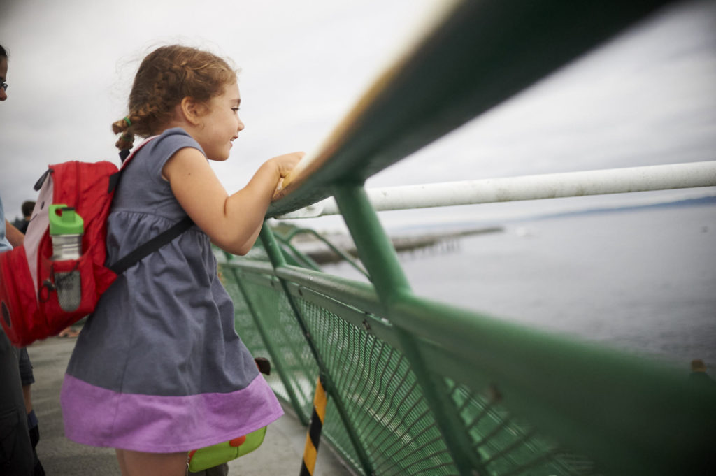 The Wonder of Children on a Ferry