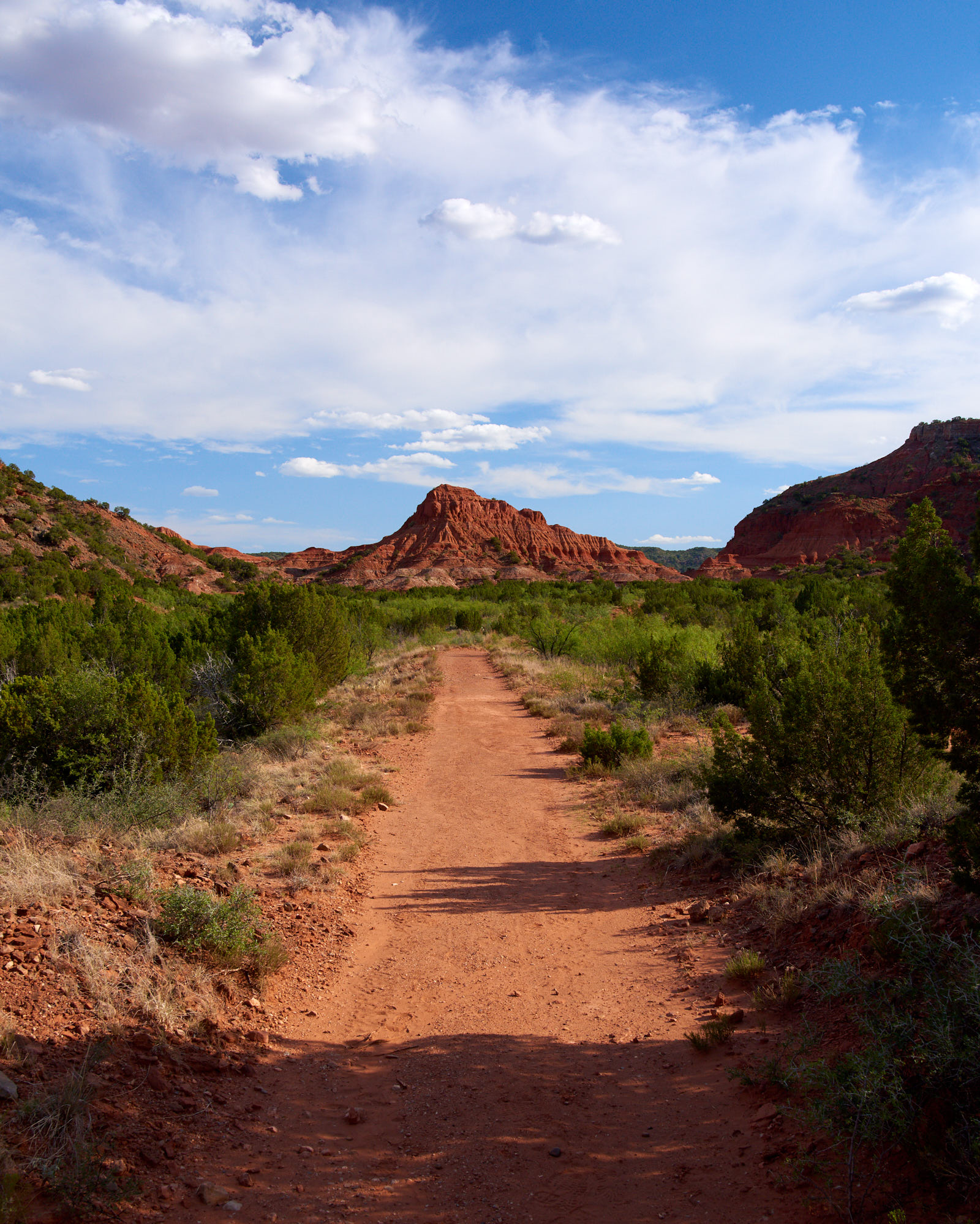 Caprock Canyon - Summer Day - North Loop Trail and Red Hill