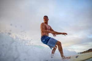 Sunset Surf Photos