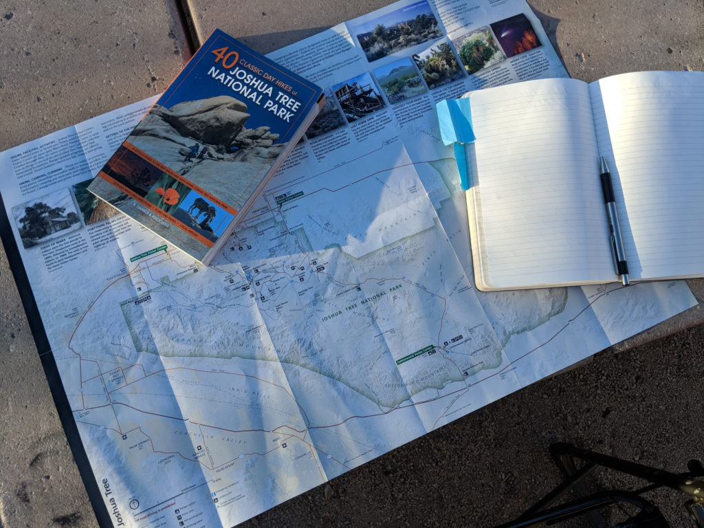 Planning some hikes at Joshua Tree National Park