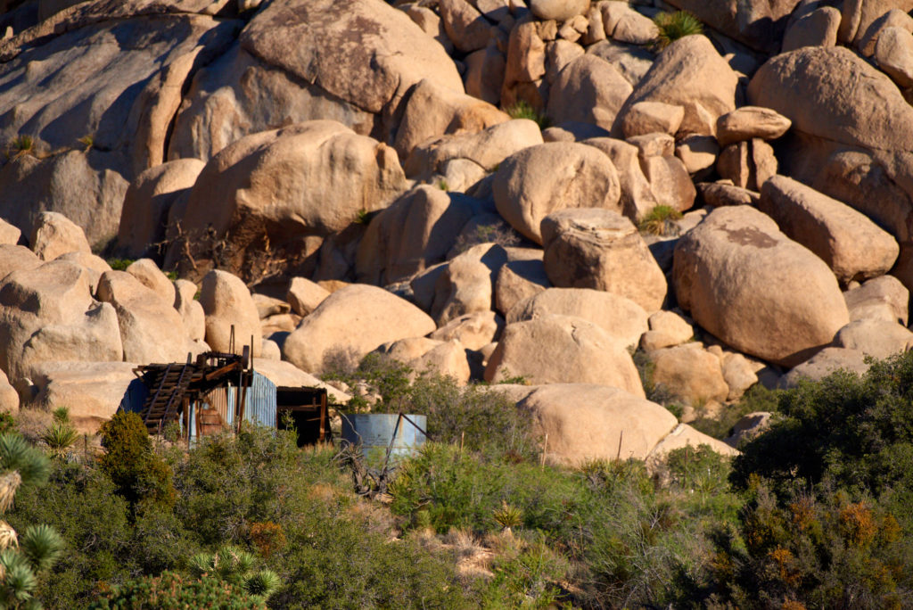 The Wall Street Gold Mill at Joshua Tree National Park