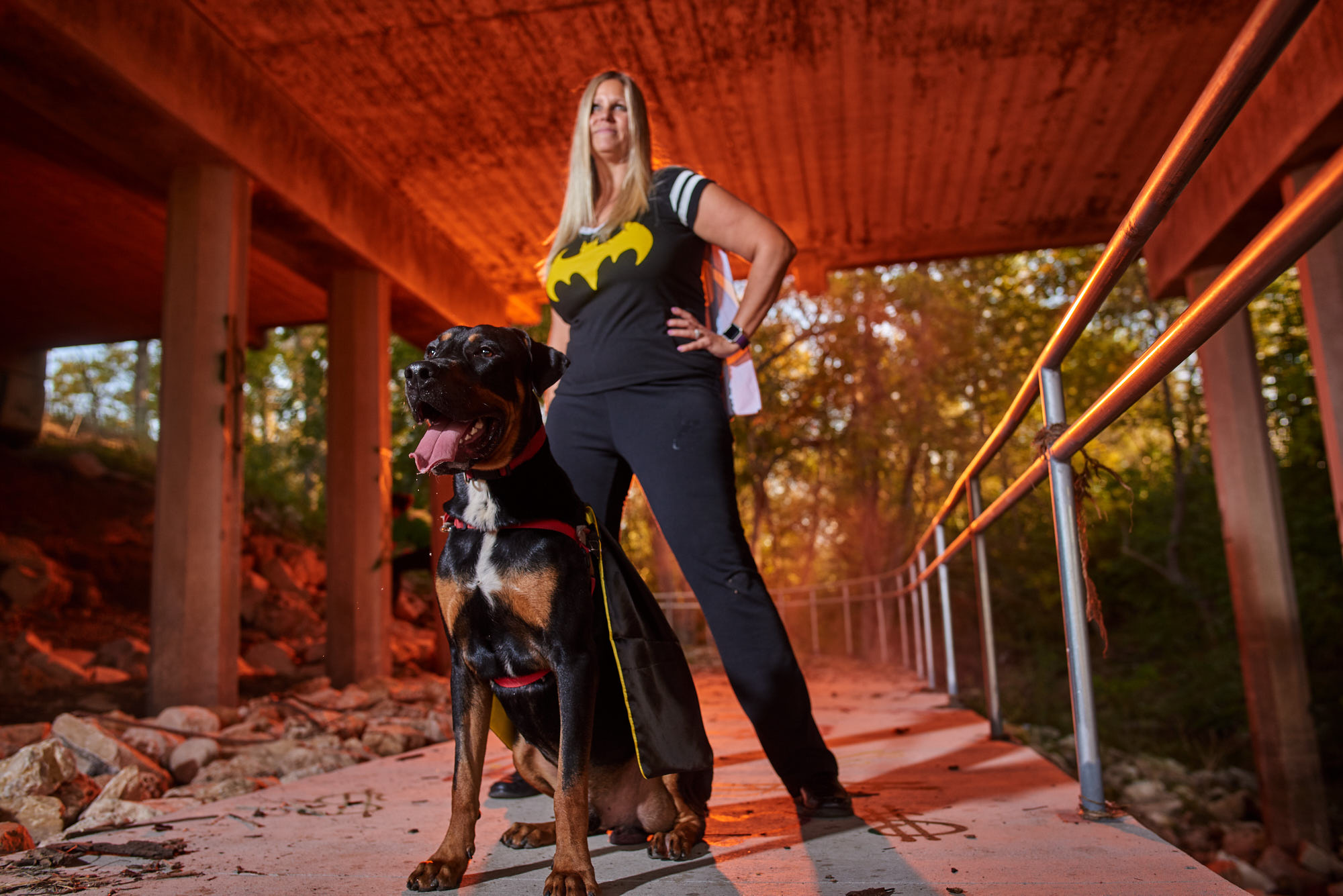 Lucci has boundless energy and is looking for the perfect super mom.