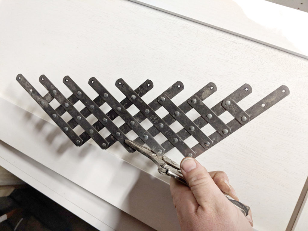 Tool for evenly spacing holes.