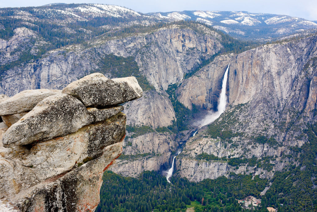 Yosemite Falls from Glacier Point.